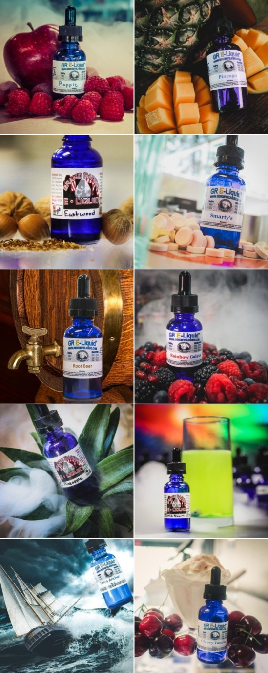 Products from Grand rapids e-liquid